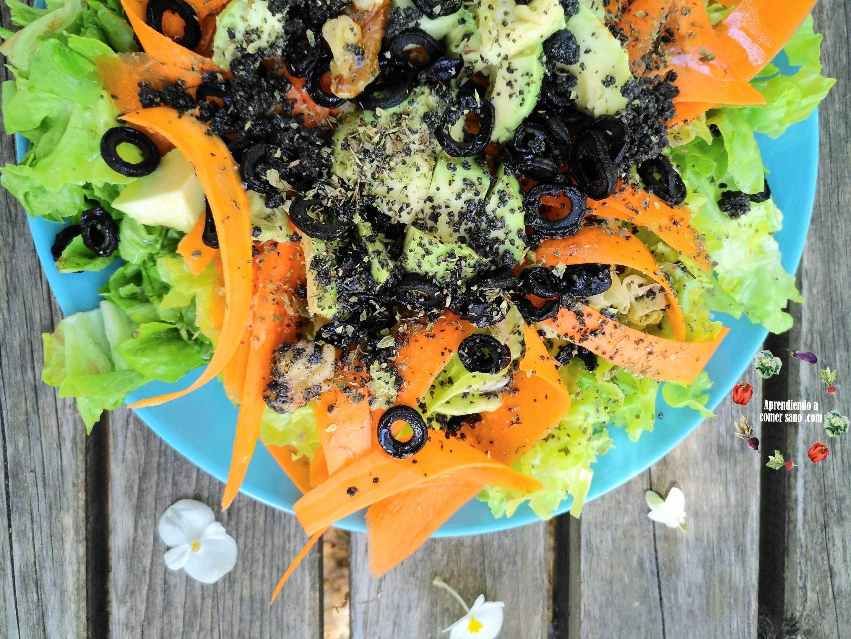 Guía para crear una ensalada completa